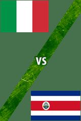 Italia Vs. Costa Rica
