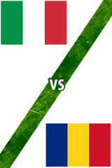 Italia vs. Rumania