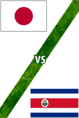 Japón Vs. Costa Rica