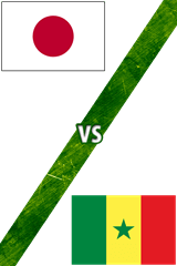 Japón vs. Senegal