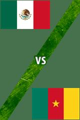 México Vs. Camerún