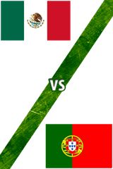 México Vs. Portugal