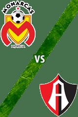 Monarcas Morelia vs. Atlas