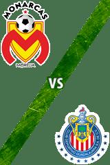 Monarcas Morelia vs. Guadalajara