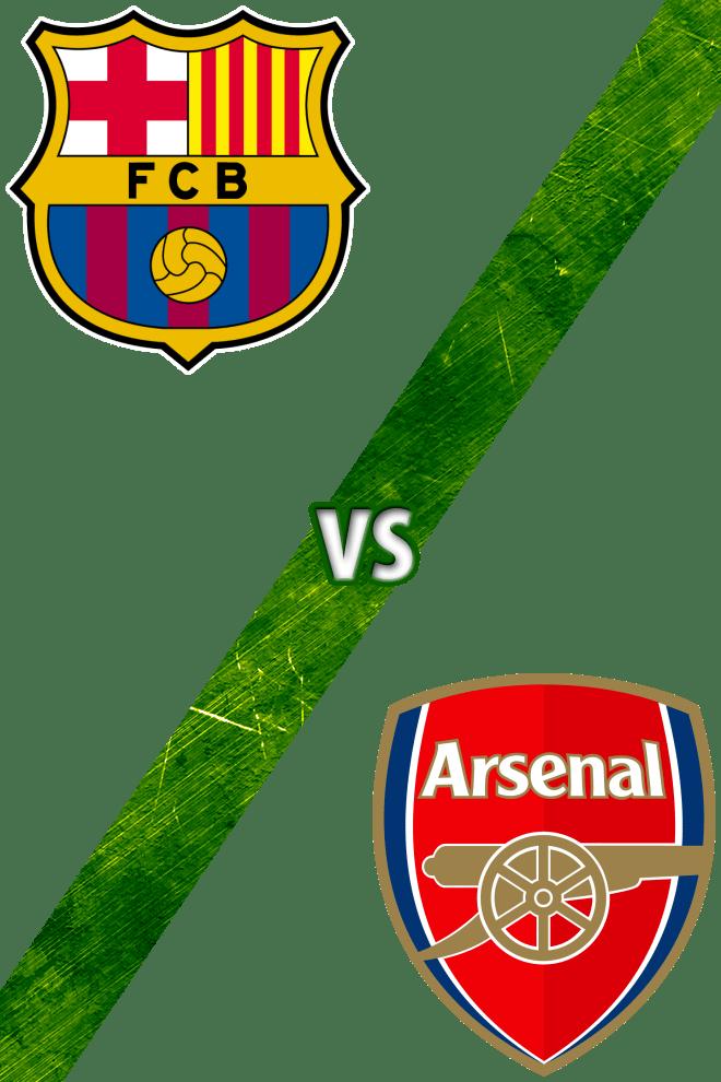 Poster del Deporte: Barcelona vs. Arsenal