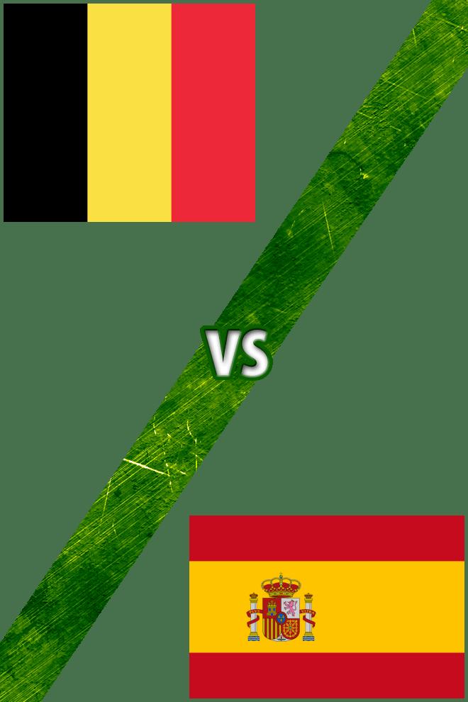 Poster del Deporte: Bélgica vs. España