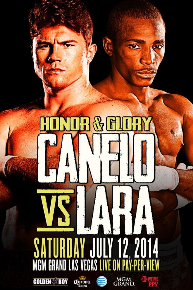 Poster del Deporte: Canelo vs. Lara