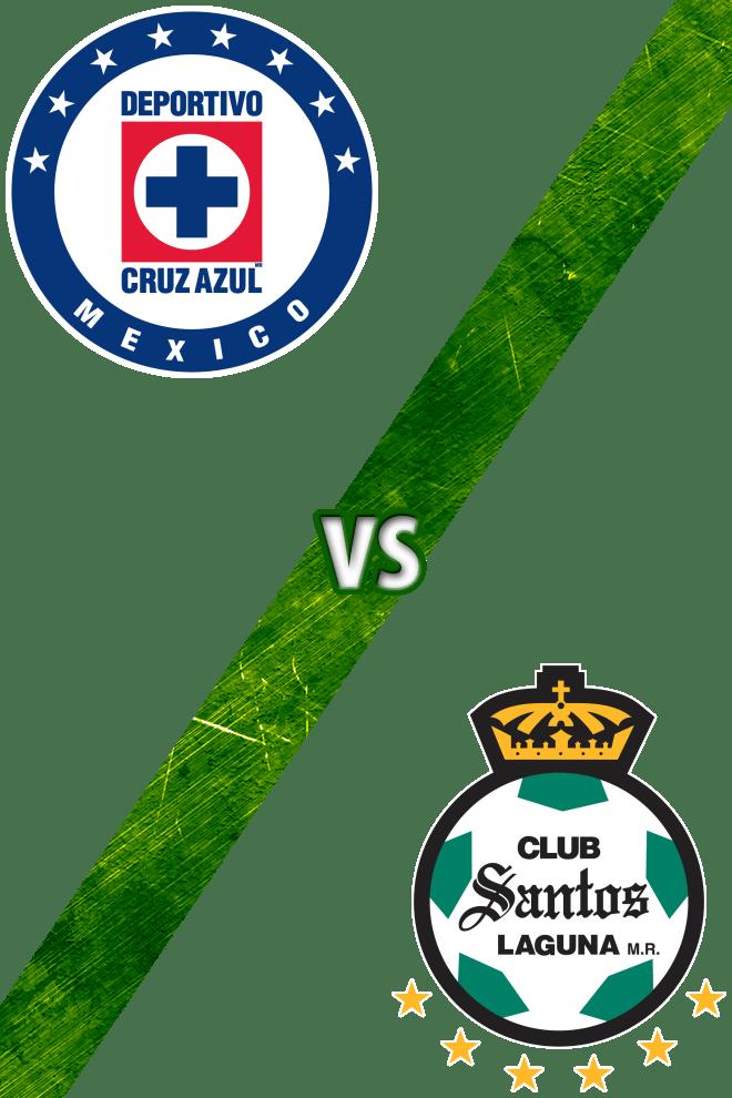 Poster del Deporte: Cruz Azul vs. Santos Laguna
