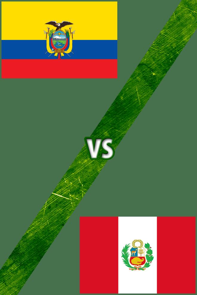 Poster Del Deporte Ecuador Vs Per 250