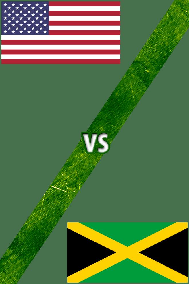 Poster del Deporte: Estados Unidos vs. Jamaica