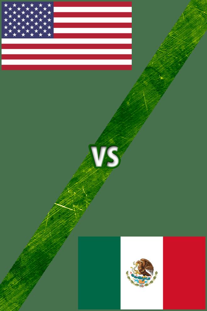 Poster del Deporte: Estados Unidos Vs. México