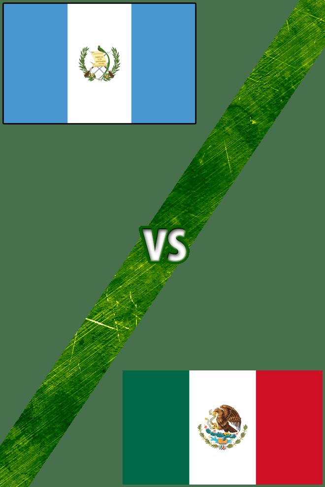 Poster del Deporte: Guatemala vs. México
