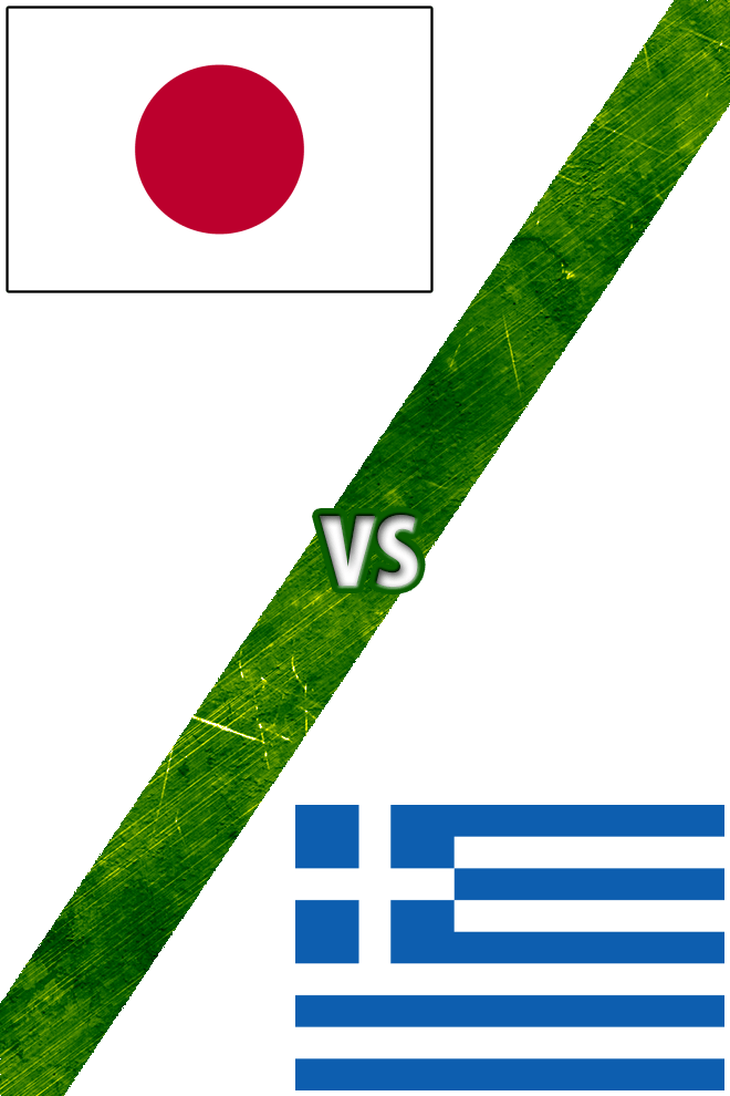 Poster del Deporte: Japón Vs. Grecia