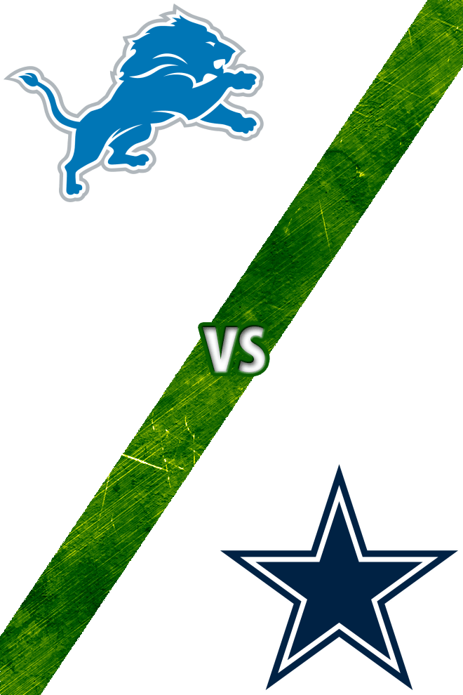 Poster del Deporte: Lions vs. Cowboys