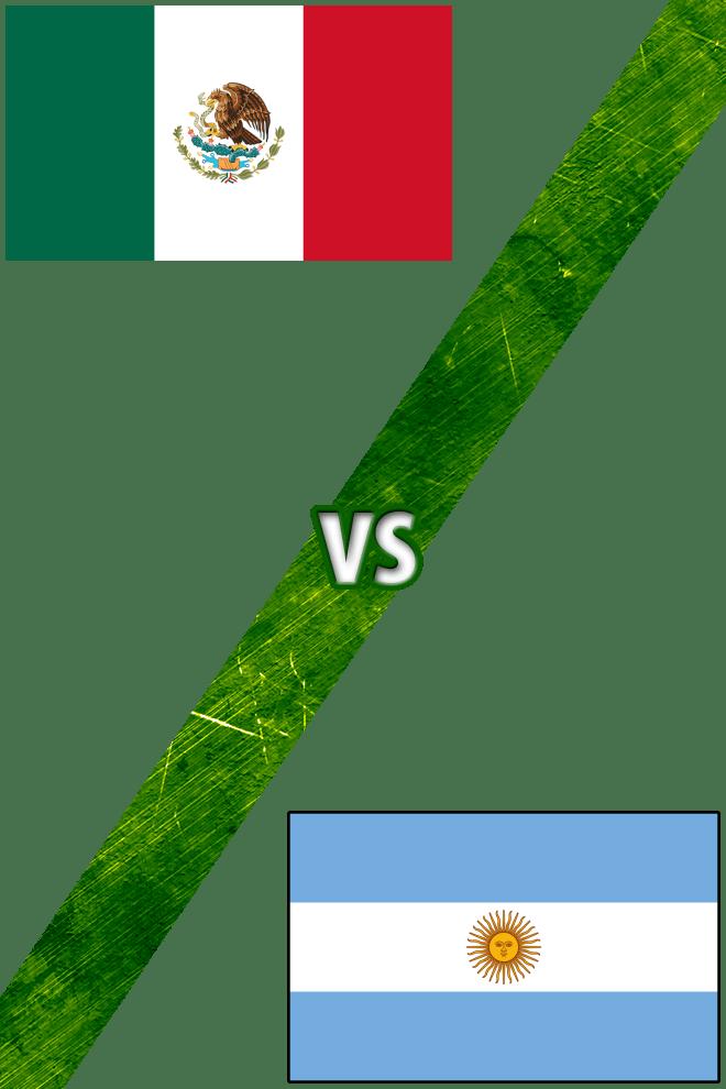Poster del Deporte: México vs. Argentina