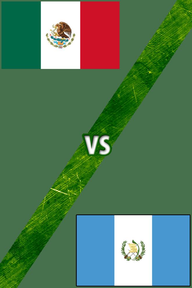 Poster del Deporte: México vs. Guatemala
