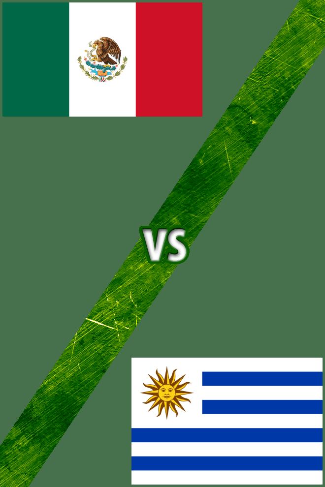 Poster del Deporte: México vs. Uruguay