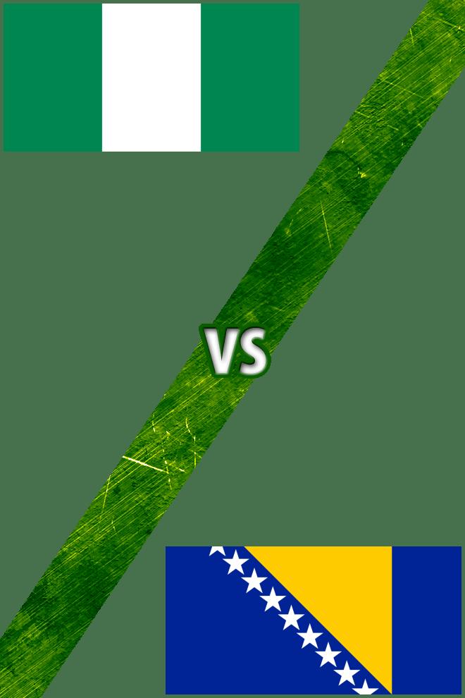 Poster del Deporte: Nigeria Vs. Bosnia-Herzegovina