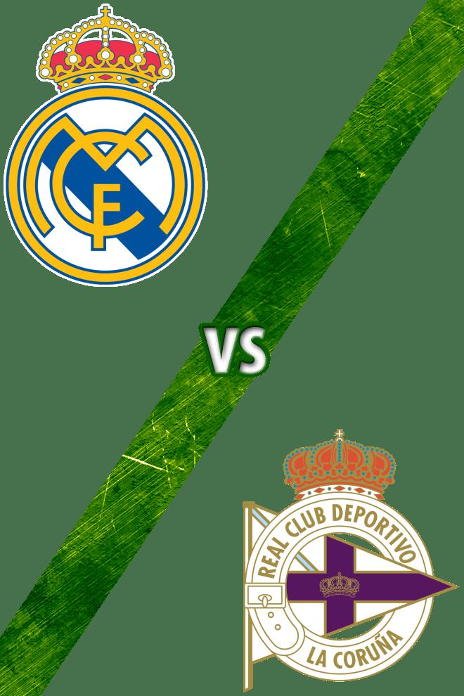 Poster Del Deporte Real Madrid Vs Deportivo De La Coru 241 A