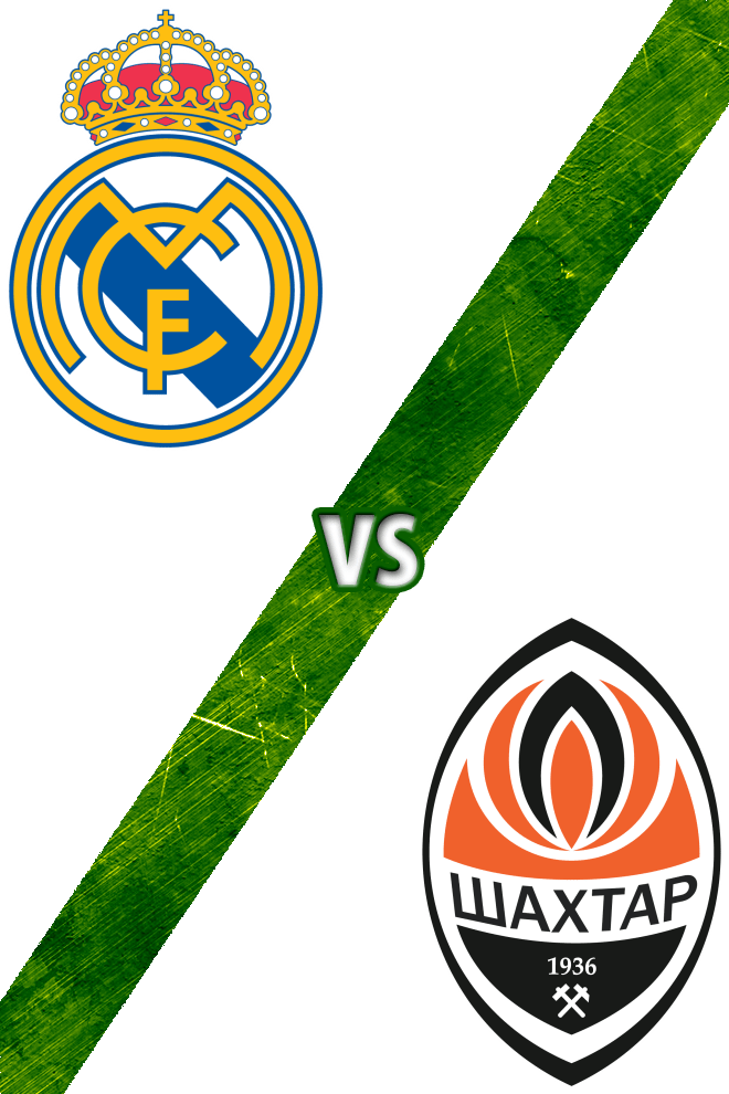 Poster del Deporte: Real Madrid vs. Shakhtar Donetsk