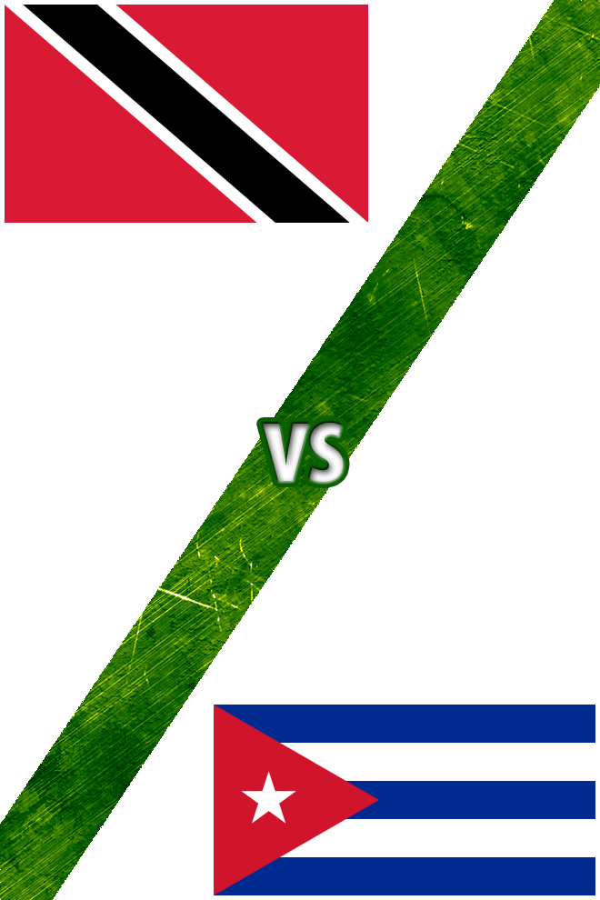 Poster del Deporte: Trinidad y Tobago vs. Cuba