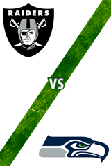 Raiders vs. Seahawks