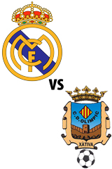 Real Madrid Vs. Olímpic de Xàtiva