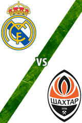 Real Madrid vs. Shakhtar Donetsk
