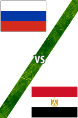 Rusia vs. Egipto
