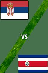 Serbia vs. Costa Rica