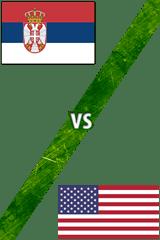 Serbia vs. Estados Unidos