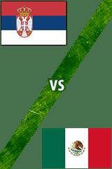 Serbia vs. México