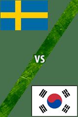 Suecia vs. Corea del Sur