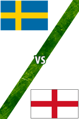 Suecia vs. Inglaterra