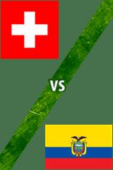 Suiza Vs. Ecuador