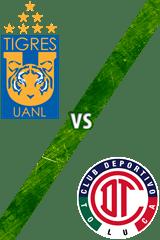 Tigres vs. Toluca