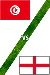 Túnez vs. Inglaterra