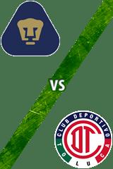 UNAM vs. Toluca
