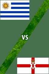 Uruguay Vs. Irlanda del Norte