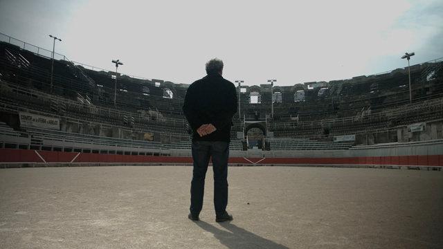 Parado en la Arena