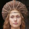 Gabriella Pession en el papel de Isabella d'Este