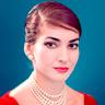 María Callas en el papel de María Callas