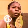Nina Simone en el papel de Nina Simone