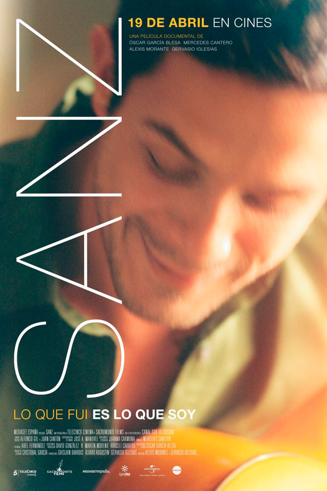 Poster del Documental: Sanz: Lo que Fui es lo que Soy
