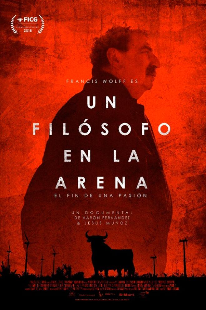 Poster del Documental: Un Filósofo en la Arena