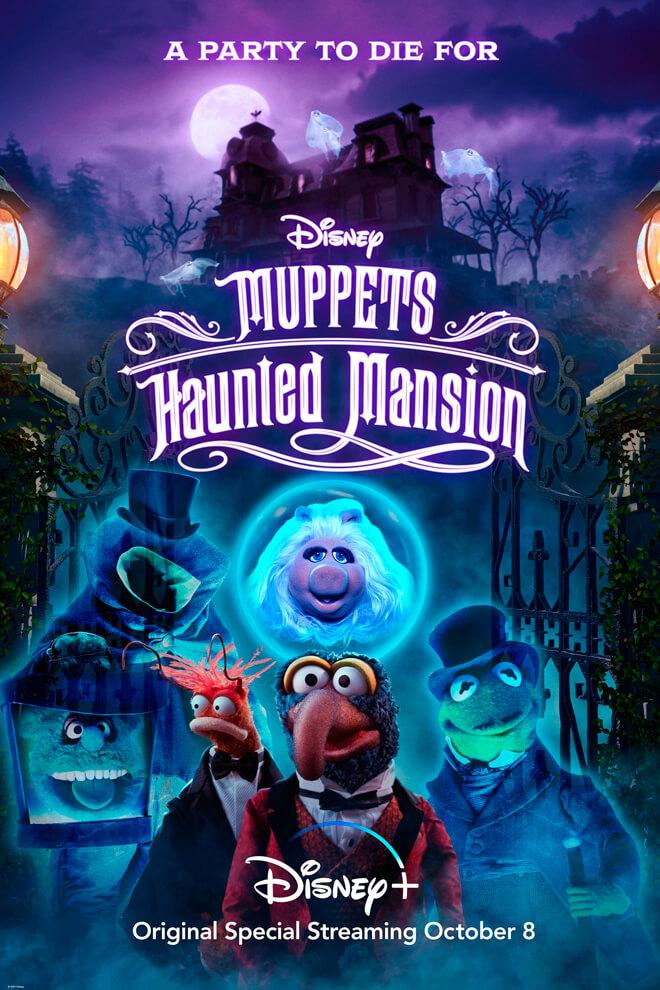 Poster del Especial: Muppets Haunted Mansion: La Mansión Hechizada