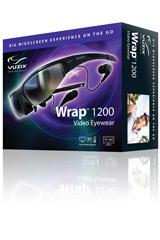 Vuzix Wrap 1200, el nuevo estándar en televisión portatil en 3D