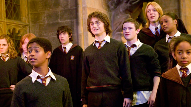 En una Clase de Hogwarts