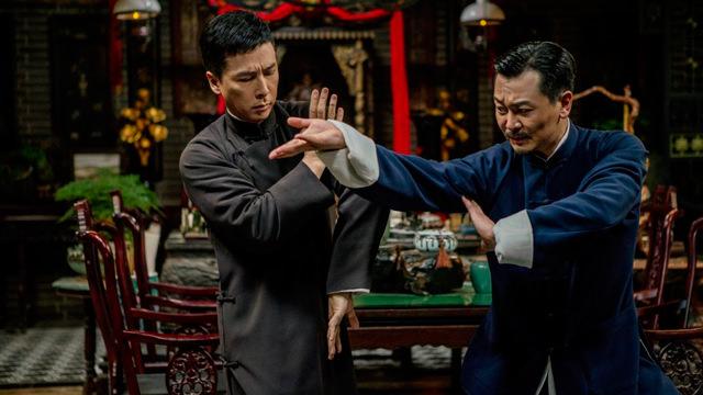 Peleando con el Maestro Wan Zhong-hua