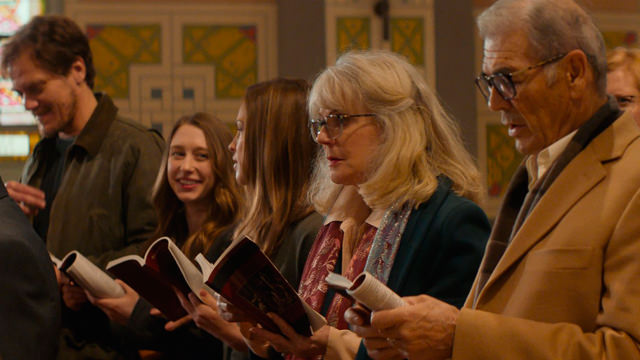 La Familia Everhardt en la Iglesia